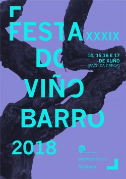 cartel festa do viño 2018